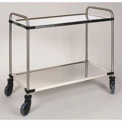 Wózek stołowy ze stali szlachetnej varithek servo+, dł. x szer. x wys. 1070x670x marki Unbekannt