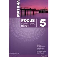 Matura Focus 5 podręcznik LO, PEARSON