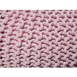 Puf 40 x 25 cm różowy conrad marki Beliani
