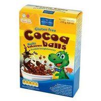 Płatki śniadaniowe Chocoa Balls kakaowe kulki 250g Bezgluten z kategorii Płatki, musli i otręby