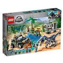 LEGO Jurassic World 75935 Starcie z barionyksem: poszukiwanie skarbów