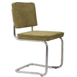krzesło ridge kink rib zielone 25a 1100063 marki Zuiver