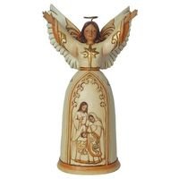 Anioł Świąteczny Szopka, (The Greatest Gift Ivory & gold Nativity angel), 4044105 Jim Shore