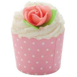 Bomb Cosmetics Pink Polka - deser kakaowy do kąpieli