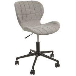 :: krzesło biurowe omg jasnoszare - szary marki Zuiver