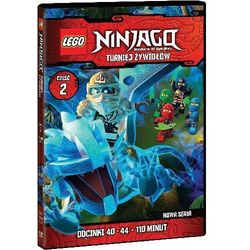 LEGO Ninjago. Turniej Zywiolów. Część 2. Odcinki 40-44. DVD - produkt z kategorii- Seriale, telenowele, pr