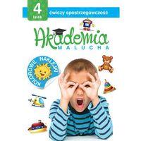 Akademia Malucha 4 Latek Ćwiczy Spostrzegawczość - Praca zbiorowa (9788378873501)