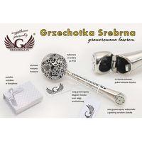 GRZECHOTKA - SREBRO - Pamiątka Chrztu Świętego - wzór SRB007