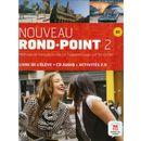 Nouveau Rond-Point 2 B1 Podręcznik + Cd (168 str.)