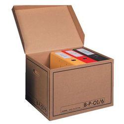 Pressel pudło archiwizacyjne otwierane z góry 410x350x300mm brązowy, 10 sztuk