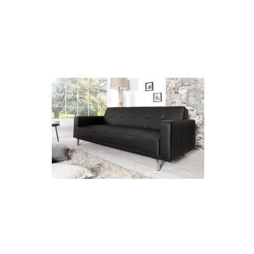 INTERIOR SOFA Z FUNKCJĄ SPANIA Monako - czarny - produkt dostępny w I-styloos - meble, lampy, dekoracje