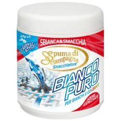 Spuma di Sciampagna Bianco Puro - odplamiacz w proszku do ubrań białych i kolorowych (600 gr) - produkt z ka