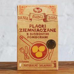 Placki ziemniaczane z suszonymi pomidorami, marki Dania babci zosi