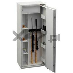 Konsmetal Szafa na broń długą mlb 150d/6+4 s1 cl