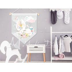 Proporczyk, obrazek, plakat do pokoju dziecka, króliczek