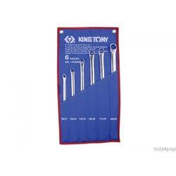 King tony Zestaw kluczy oczkowych długich 6cz. 10 - 24mm 1f06mrn (4712755686359)