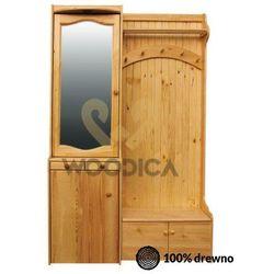 Garderoba 124x200 prawostronna