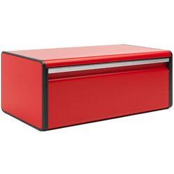 Brabantia Pojemnik na pieczywo prostokątny czerwony passion (8710755484025)