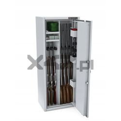 Szafa na broń długą mlb 125p/4+4 el s1 - zamek elektroniczny marki Konsmetal