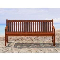 Drewniana ławka ogrodowa 160 cm TOSCANA