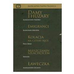 Złota setka teatru cz. 2 (zestaw 5 płyt) - Edward Dziewoński, Zbigniew Zamachowski, Janusz Gajos, Bogumił