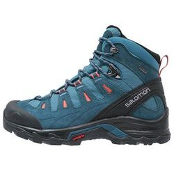 Salomon QUEST PRIME GTX Buty trekkingowe mallard blue/reflecting pond/living coral