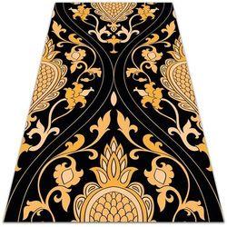 Dywanomat.pl Nowoczesny dywan outdoor wzór nowoczesny dywan outdoor wzór złoty adamaszek