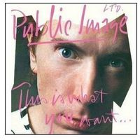 Universal music polska Public image limited - this is what you want (cd) (5099908801722)