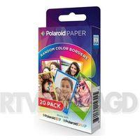 Polaroid  wkład do snap/zip 20 zdjęć kolorowe ramki (0840102156225)