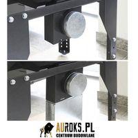 Uniflam Zestaw doprowadzający powietrze kanał prostokątny 150x50 mm do wkładów kominkowych  ref.z-dp150x5