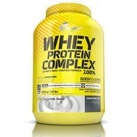 Izolat białka Whey Protein Complex 100% 2200g Cookies cream Olimp (: )