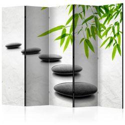 Parawan 5-częściowy - Kamienie Zen II [Parawan]