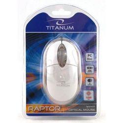 MYSZ TITANUM RAPTOR 3D OPT. PRZEWODOWA TM102W USB, kup u jednego z partnerów