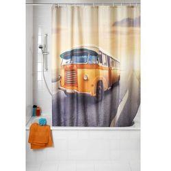Wenko Zasłona prysznicowa, tekstylna, vintage bus, 180x200 cm, (4008838537992)
