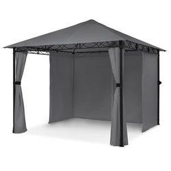 Blumfeldt Mondo, pawilon ogrodowy/namiot imprezowy, stal, poliester ciemnoszary