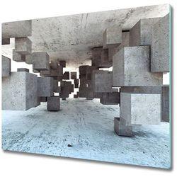 Deska do krojenia sześciany w betonie marki Tulup.pl