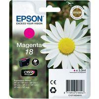 Epson  oryginalny ink c13t18034012, t180340, magenta, 3,3ml, epson expression home xp-102, xp-402, xp-405, xp-