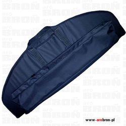 Solidny pokrowiec torba FORSPORT Czarny na łuk z gąbką i kieszenią na strzały - 115x42cm