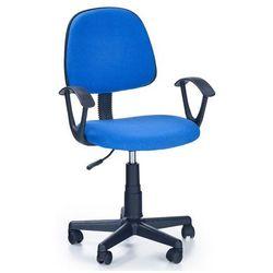 Fotel młodzieżowy Bomer - niebieski