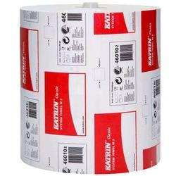 Ręcznik papierowy w roli m2 2 warstwy 160 m biały makulatura marki Katrin