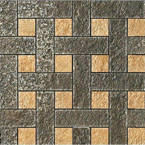 PALACE STONE Chesterfield Nero/Oro 39,4x39,4 (G-57) (glazura i terakota) od 7i9.pl Wszystko  Dla Domu