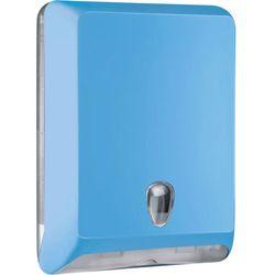 Pojemnik na ręczniki papierowe składane L Marplast plastik niebieski - produkt z kategorii- Pozostałe akcesoria łazienkowe