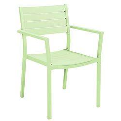 Krzesło ogrodowe pistacjowy COLLINS - produkt z kategorii- Krzesła ogrodowe