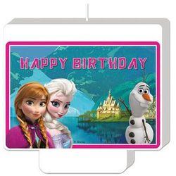 Świeczka Happy Birthday Frozen - Kraina Lodu - 1 szt. (5201184846490)