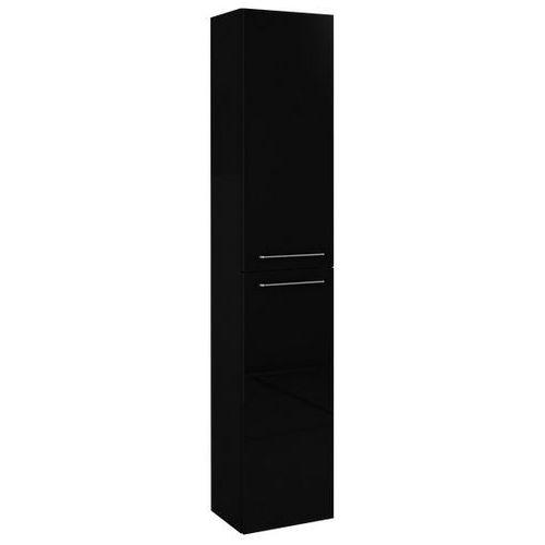 Elita Barcelona słupek łazienkowy 30x23,6x150 cm czarny 164350 (regał łazienkowy)