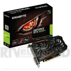Gigabyte GeForce CUDA GTX 1050 Ti WF OC 4GB GDDR5 128BIT DVI-D/3HDMI/DP DARMOWA DOSTAWA DO 400 SALONÓW !! z k