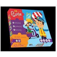 Puzzle 36 Pojazdy - SZYBKA WYSYŁKA (od 49 zł gratis!) / ODBIÓR: ŁOMIANKI k. Warszawy