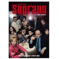 Rodzina soprano, sezon 4 (4 dvd)