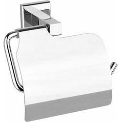 Fala Uchwyt z klapką na papier toaletowy quad chrom 69315 - zyskaj rabat 30 zł (5906083028182)