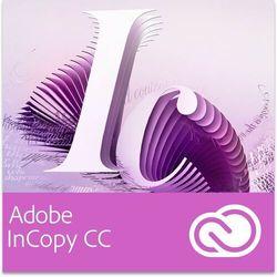 Adobe InCopy CC dla użytkowników wcześniejszych wersji - Subskrypcja z kategorii Programy graficzne i CAD